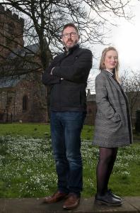 Nick Turner and Helen Statham, directors of Intro PR and Social Media LTD