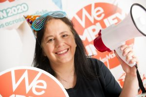 claire armstrong happy out loud day